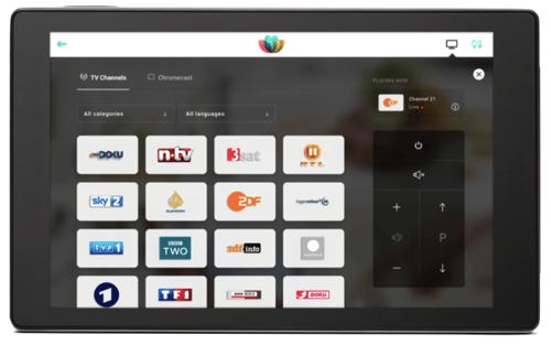 SuitePad TV Control - die moderne Fernbedienung für das Hotelzimmer