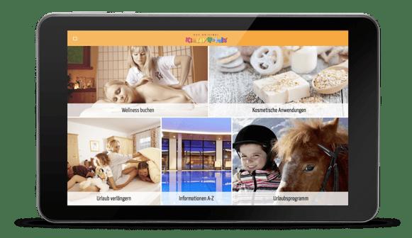 Digitale Gästemappe von Suitepad im Kinderhotel Felben