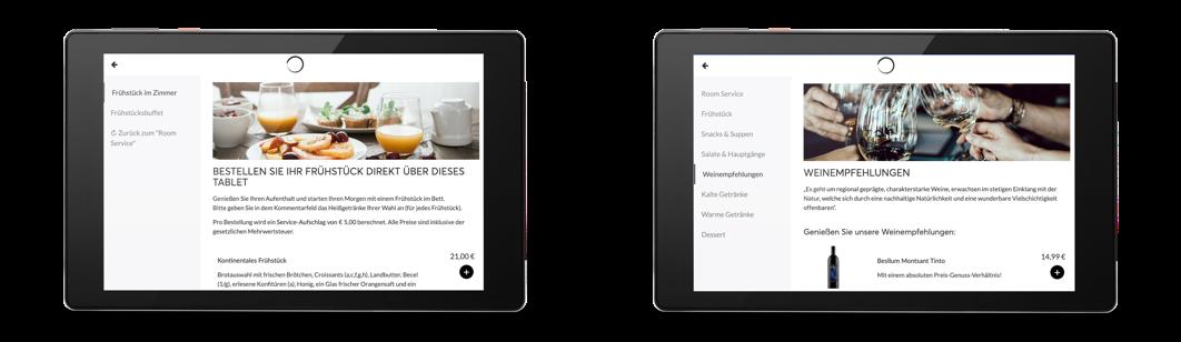 SuitePad | Beispiel einer Installation