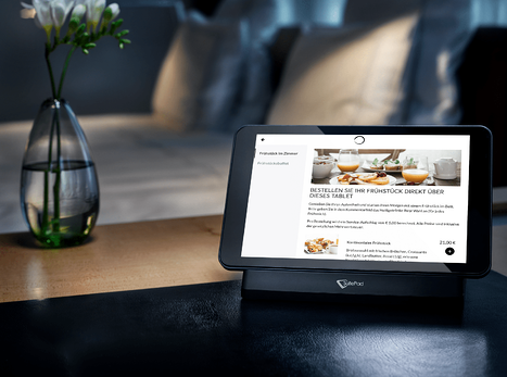 SuitePad: Frühstück direkt über das Tablet im Hotelzimmer  bestellen