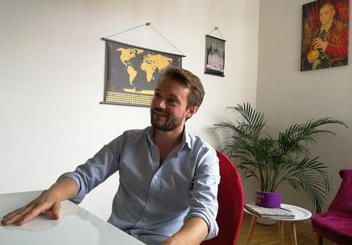 Tilmann Volk - SuitePad Mitgründer im Interview