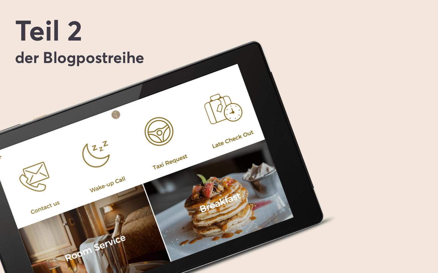 Teil 2 der Blogpostreihe - Die Möglichkeiten der digitalen Gästemappe