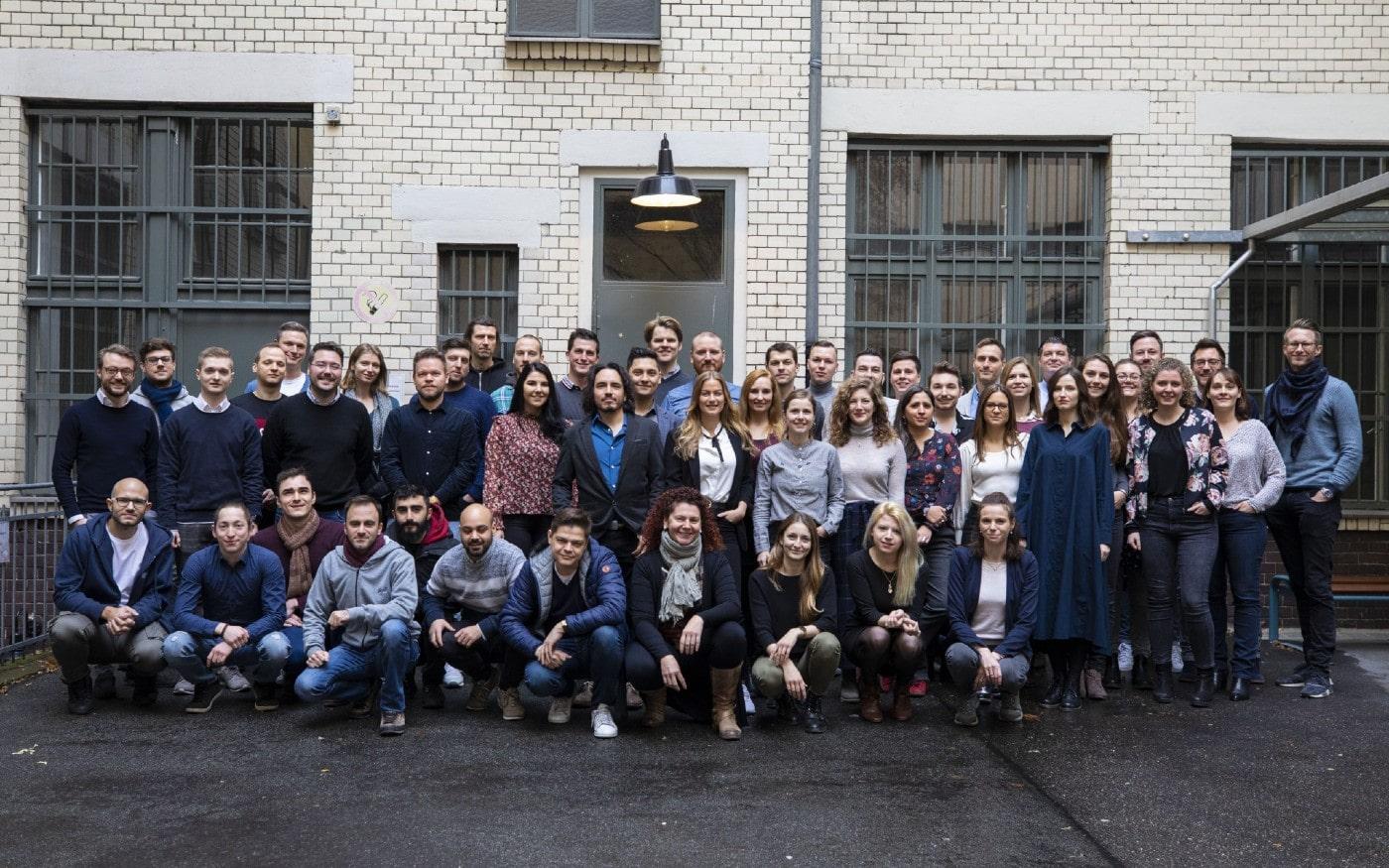 SuitePad office team photo